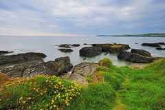 West Cork Coastline. Peaceful and calming afternoon by West Cork Coastline royalty free stock images