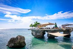 West Cove Resort in Boracay Island on Nov 18, 2017 in the Philip Royalty Free Stock Images