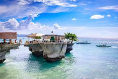 West Cove Resort in Boracay Island on Nov 18, 2017 in the Philip Royalty Free Stock Photo