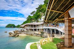 West Cove Resort in Boracay Island on Nov 18, 2017 in the Philip Royalty Free Stock Photography