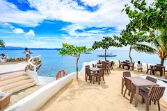 West Cove Resort in Boracay Island on Nov 18, 2017 in the Philip Stock Photos