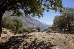 West Crete Landscape Royalty Free Stock Photos