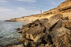 West Crimean coast royalty free stock photo