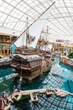 West Edmonton Mall in Alberta, Canada Royalty Free Stock Photo