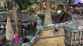 West-Edmonton-Mall zur Weihnachtszeit 😊 stock footage