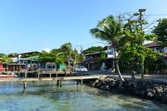 West End, Roatan, Honduras Fotografie Stock