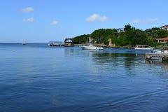 West End, Roatan, Honduras Fotografie Stock Libere da Diritti