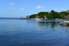 West End, Roatan, Honduras Royalty Free Stock Photos