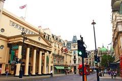 West End royal Londres Angleterre de Haymarket de théâtre Photo libre de droits