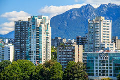The West End of Vancouver Stock Images