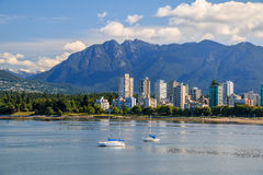 The West End of Vancouver Stock Photo