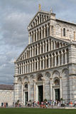 West entrance of the Cathedral of Pisa Stock Image