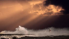West Europe seascape Royalty Free Stock Photography