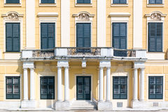 West facade of Schonbrunn Palace, Vienna, Austria Stock Images
