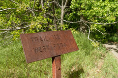 The west fork trail Royalty Free Stock Image
