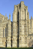 West Front, Wells Cathedral Stock Images