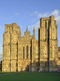 West Front, Wells Cathedral Stock Image