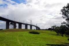 The West Gate bridge in Melbourne, Australia Royalty Free Stock Photography