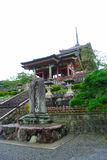 West Gate of Kiyomizu-dera temple Stock Photo