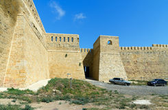 West gate in Naryn-Kala fortress. Derbent Royalty Free Stock Image