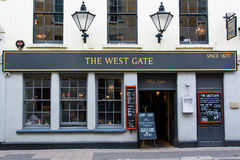 The West Gate Public House Stock Images