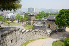 West Gate of Suwon Hwaseong Stock Photo
