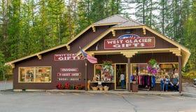 West Glacier Gifts Glacier National Park Stock Photography
