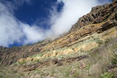West of Gran Canaria, February 2018 Royalty Free Stock Photo