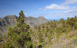 West Gran Canaria in February Stock Image