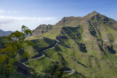 West Gran Canaria in February Royalty Free Stock Images