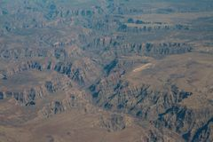 West Grand Canyon aerial stock images