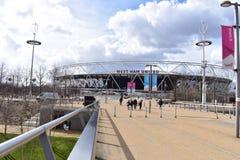 West Ham Fußballstadion stockfotografie