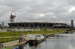 Стадион West Ham, парк ферзя Элизабета, Newham Стоковая Фотография