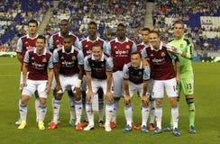 West Ham United объединяется в команду Стоковая Фотография RF