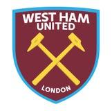 West Ham United royalty free illustration