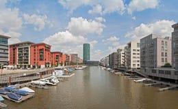 West Harbour, Frankfurt, Germany Royalty Free Stock Photos