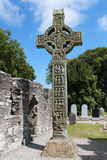 West High Cross Monasterboice Royalty Free Stock Photo