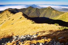 West high tatra mountains- Slovakia Stock Photography