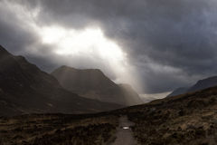 West Highland Way  Royalty Free Stock Photo