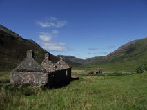 West Highland Way Kinlochleven Lairigmor pass Stock Photography