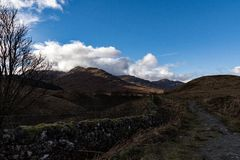 West Highland Way Stock Photo