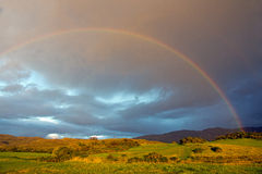 West Highlands Rainbow Royalty Free Stock Images