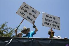 West-Hollywood, Los Angeles, Kalifornien, USA am 14. Juni 2015 40. jährliches homosexuelles Pride Parade für LGBT-Gemeinschaft, u Stockbilder