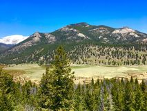 West Horseshoe in Rocky Mountain National Park Stock Photos