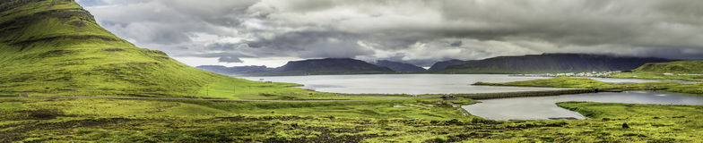 West Iceland Panorama Stock Photos