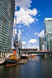 West India Quay. In London Docklands Stock Image