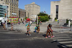 The 2015 West Indian Day Parade 29 Royalty Free Stock Photo