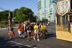 The 2015 West Indian Day Parade Part 3 1 Royalty Free Stock Photography