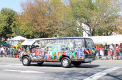 West Indian Day Parade Van. Stock Images