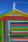 West Indies, Caribbean, Antigua, St Georges, Dickenson Bay, Colourful Beach Hut Stock Images